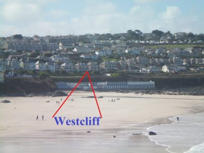 Westcliff Bed and Breakfast St Ives Cornwall